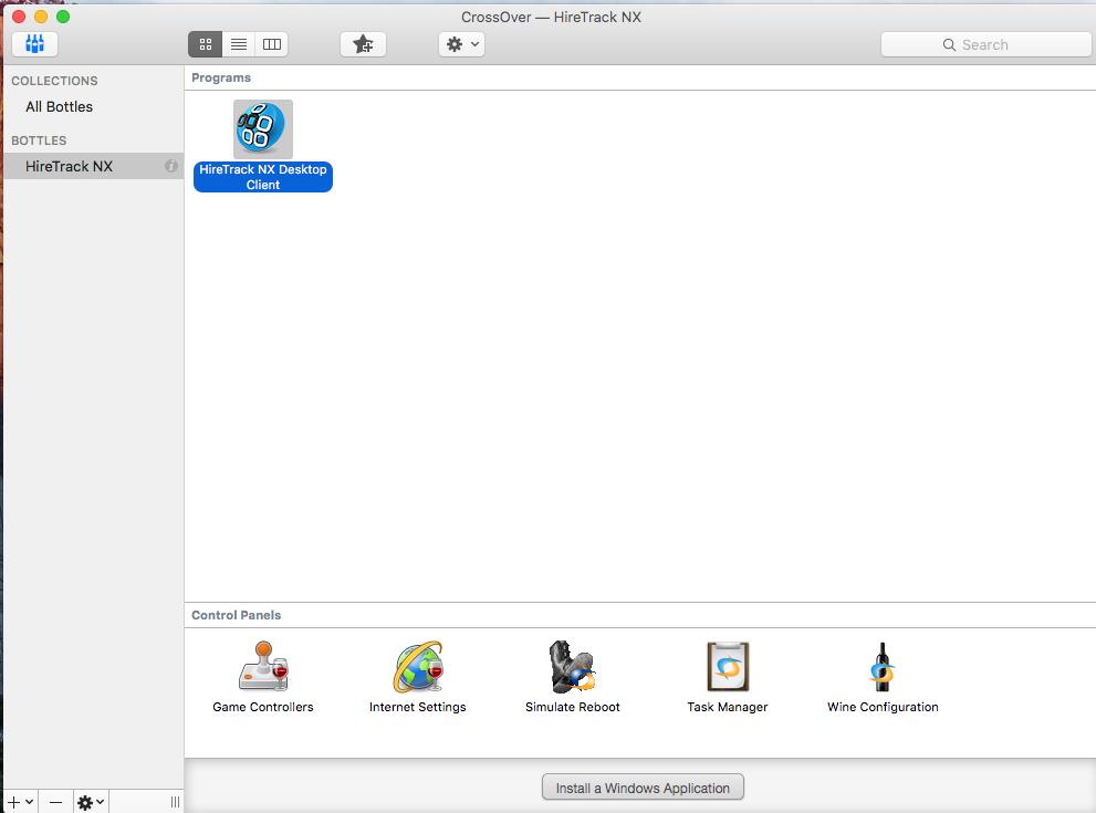 Installing HireTrack NX Client on Apple Mac Computers