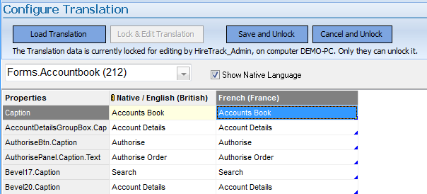 Using a 3rd Party to translate HireTrack NX – Navigator Systems Ltd